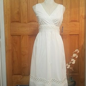 Old navy white summer dress